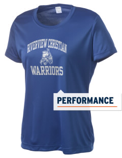 Riverview Christian School Warriors Women's Competitor Performance T-Shirt