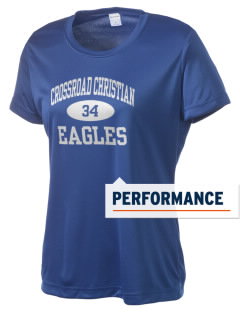 Crossroad Christian School Eagles Women's Competitor Performance T-Shirt