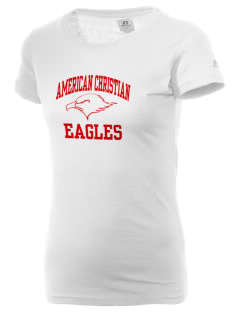 American Christian School Eagles  Russell Women's Campus T-Shirt