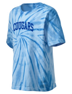 University Hills Lutheran School Cougars Kid's Tie-Dye T-Shirt