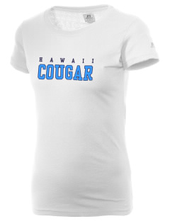 Hawaii Cougar  Russell Women's Campus T-Shirt