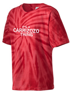 Carrizozo High School Grizzlies Kid's Tie-Dye T-Shirt