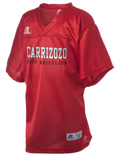 Carrizozo High School Grizzlies Russell Kid's Replica Football Jersey