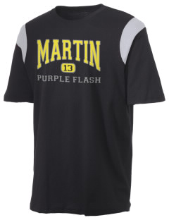 Martin High School Purple Flash Holloway Men's Rush T-Shirt