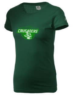 Clemons Lutheran School Crusaders  Russell Women's Campus T-Shirt