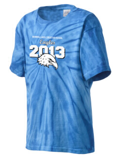 Grinnell Area Christian School Eagles Kid's Tie-Dye T-Shirt