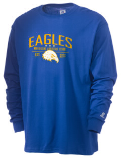Morningside Christian School Eagles  Russell Men's Long Sleeve T-Shirt