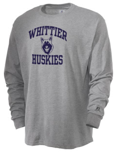 Whittier Elementary School Huskies  Russell Men's Long Sleeve T-Shirt