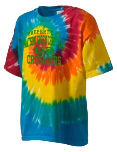 Watson Groen Christian School Crusaders Kid's Tie-Dye T-Shirt