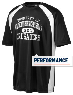 Watson Groen Christian School Crusaders Men's Dry Zone Colorblock T-Shirt
