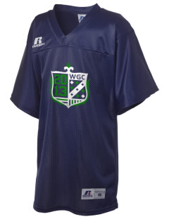 Watson Groen Christian School Crusaders Russell Kid's Replica Football Jersey