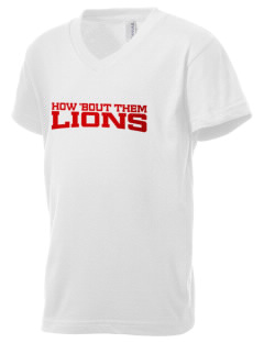 North Seattle Christian School Lions Kid's V-Neck Jersey T-Shirt