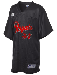 Queen Anne Christian School Royals Russell Kid's Replica Football Jersey