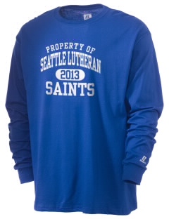 Seattle Lutheran High School Saints  Russell Men's Long Sleeve T-Shirt