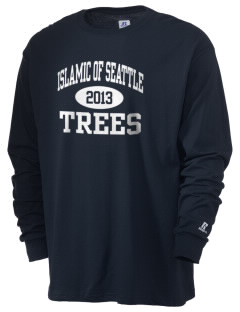 Islamic School Of Seattle Trees  Russell Men's Long Sleeve T-Shirt