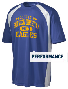 Fairview Christian School Eagles Men's Dry Zone Colorblock T-Shirt