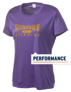 Soundview Private School Dolphins Women's Competitor Performance T-Shirt