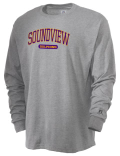 Soundview Private School Dolphins  Russell Men's Long Sleeve T-Shirt
