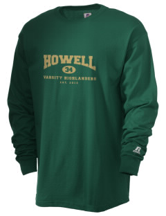 Howell High School Highlanders  Russell Men's Long Sleeve T-Shirt