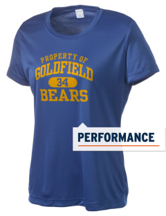 Goldfield School Bears Women's Competitor Performance T-Shirt
