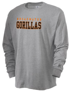 Broadwater Elementary School Gorillas  Russell Men's Long Sleeve T-Shirt