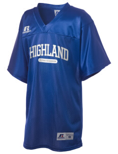 Highland Home School Flying Squadron Russell Kid's Replica Football Jersey