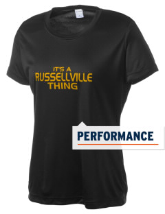 Russellville High School Golden Tigers Women's Competitor Performance T-Shirt