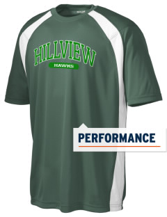Hillview Elementary School Hawks Men's Dry Zone Colorblock T-Shirt