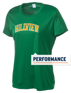 Hillview Elementary School Hawks Women's Competitor Performance T-Shirt
