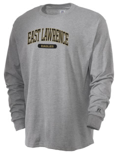 East Lawrence High School Eagles  Russell Men's Long Sleeve T-Shirt