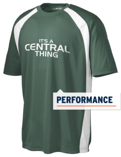 Central High School Lions Men's Dry Zone Colorblock T-Shirt