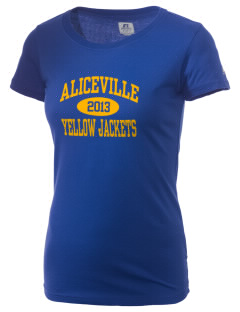 Aliceville High School Yellow Jackets  Russell Women's Campus T-Shirt