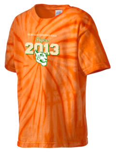 Mount Olive Elementary School Tigers Kid's Tie-Dye T-Shirt