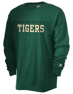 Mount Olive Elementary School Tigers  Russell Men's Long Sleeve T-Shirt