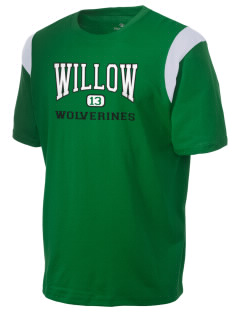 Willow Elementary School Wolverines Holloway Men's Rush T-Shirt