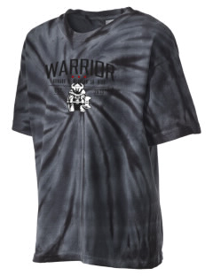 Howard D. Woodson Sr. High Warrior Kid's Tie-Dye T-Shirt