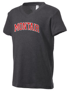 Montair Elementary School Roadrunners Kid's V-Neck Jersey T-Shirt