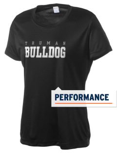 Truman High School Bulldog Women's Competitor Performance T-Shirt