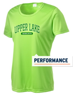 Upper Lake Elementary School Bobcats Women's Competitor Performance T-Shirt