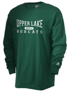 Upper Lake Elementary School Bobcats  Russell Men's Long Sleeve T-Shirt