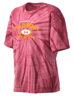 Madison 1 Middle School Wildcats Kid's Tie-Dye T-Shirt