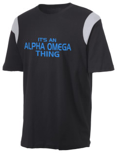 Alpha Omega Academy We don't have one.  We have a logo Holloway Men's Rush T-Shirt