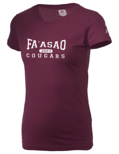 fa'asao high cougars  Russell Women's Campus T-Shirt