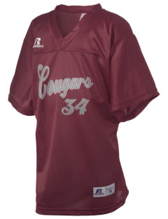 fa'asao high cougars Russell Kid's Replica Football Jersey