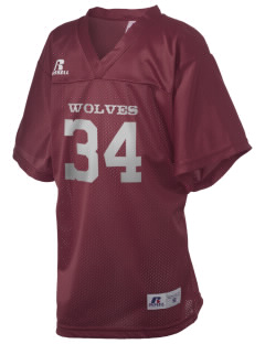 Normatives Services Prep School Wolves Russell Kid's Replica Football Jersey