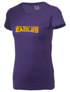 George I Sanchez Elementary School Eagles  Russell Women's Campus T-Shirt
