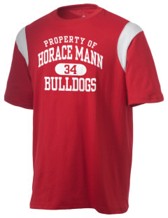 Horace Mann Elementary School Bulldogs Holloway Men's Rush T-Shirt