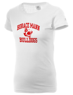 Horace Mann Elementary School Bulldogs  Russell Women's Campus T-Shirt