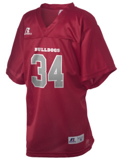 Horace Mann Elementary School Bulldogs Russell Kid's Replica Football Jersey