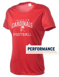 Fairview Middle School Cardinals Women's Competitor Performance T-Shirt